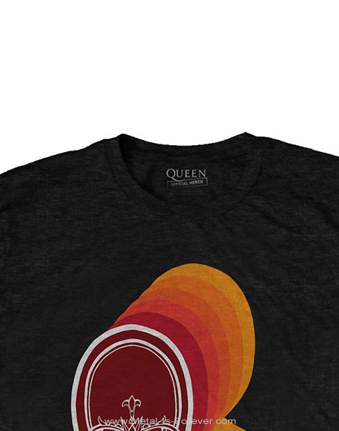 QUEEN (クイーン) RETRO LOGO 「レトロ・ロゴ」 Tシャツ