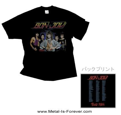 BON JOVI (ボン・ジョヴィ) TOUR '84 「84年ツアー」 Tシャツ