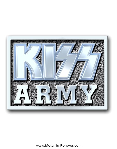 KISS (キッス) KISS ARMY 「キッス・アーミー」 ピンバッジ