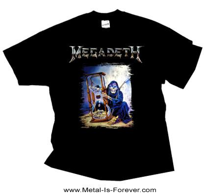 MEGADETH (メガデス) COUNTDOWN HOURGLASS 「破滅への砂時計」 Tシャツ