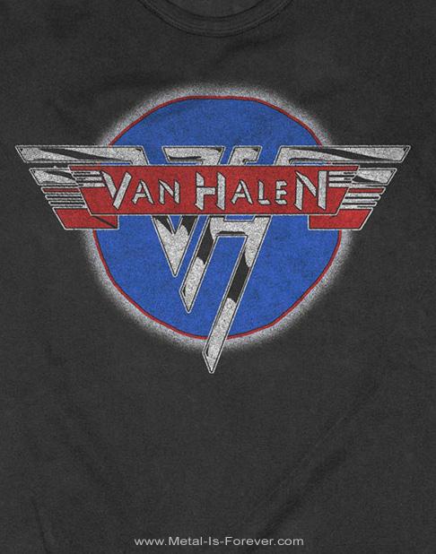 VAN HALEN  (ヴァン・ヘイレン)  CHROME LOGO 「クローム・ロゴ」 Tシャツ
