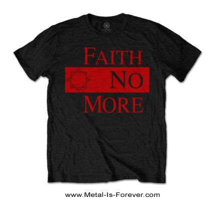 FAITH NO MORE -フェイス・ノー・モア- CLASSIC NEW LOGO STAR 「クラシック・ニュー・ロゴ・スター」 Tシャツ
