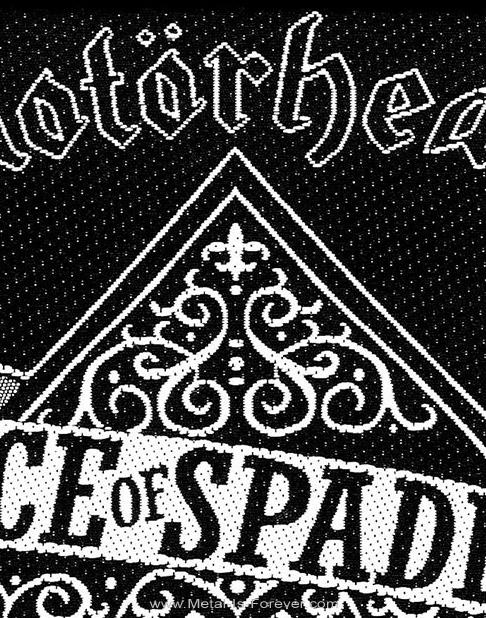 MOTORHEAD (モーターヘッド) ACE OF SPADES 「エース・オブ・スペーズ」 ワッペン