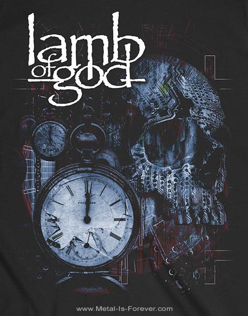 LAMB OF GOD (ラム・オブ・ゴッド) CIRCUITRY SKULL RECOLOR 「サーキットゥリィ・スカル・リカラー」 Tシャツ
