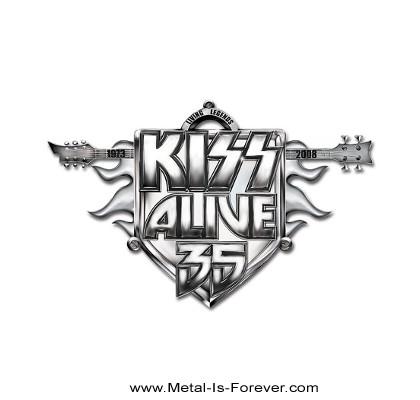 KISS (キッス) ALIVE 35 TOUR 「アライヴ・35・ツアー」 ピンバッジ
