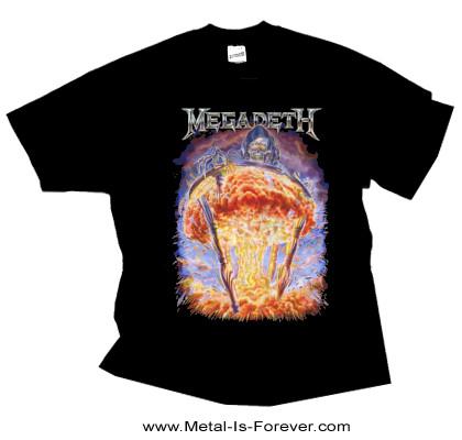 MEGADETH (メガデス) COUNTDOWN TO EXTINCTION 「破滅へのカウントダウン」 Tシャツ Ver.2