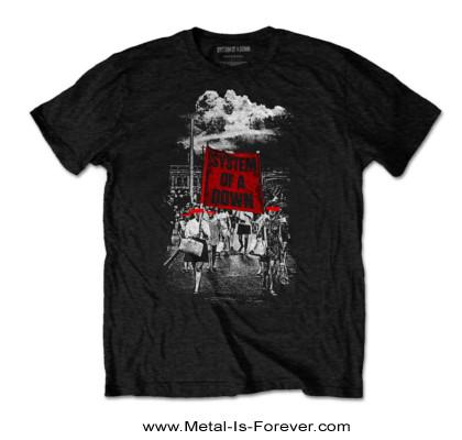 SYSTEM OF A DOWN (システム・オブ・ア・ダウン) BANNER MARCHS 「バナー・マーチ」 Tシャツ