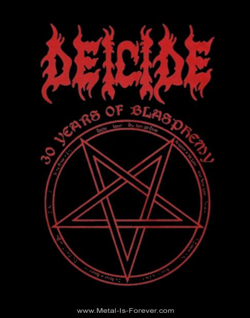 DEICIDE (ディーサイド) 30 YEARS OF BLASPHEMY 「30イヤーズ・オブ・ブラスフェミー」 Tシャツ