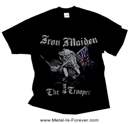 IRON MAIDEN -アイアン・メイデン- THE TROOPER 「明日なき戦い」 スケッチ  Tシャツ