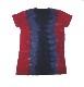 【在庫有り商品】LED ZEPPELIN -レッド・ツェッペリン- 1971年 UK ツアー レディースTシャツ (絞り染め)XLサイズ