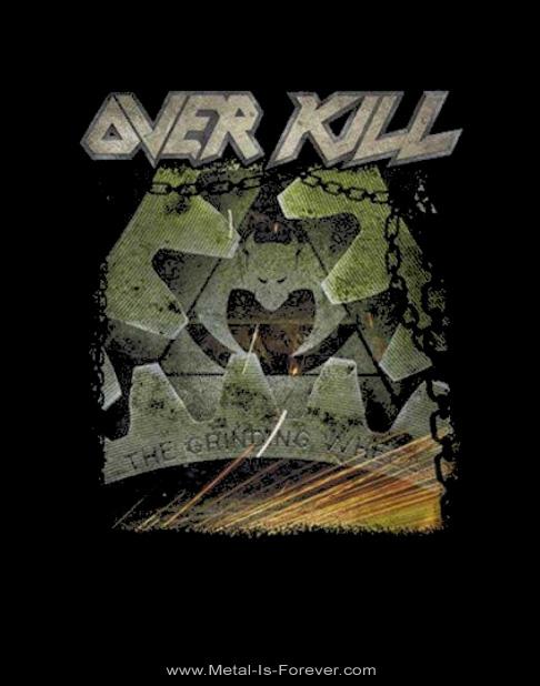 OVERKILL -オーヴァーキル- THE GRINDING WHEEL 「ザ・グラインディング・ウィール」 レディースTシャツ