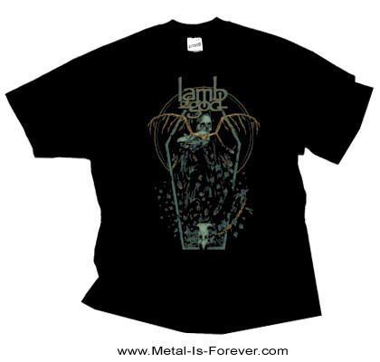 LAMB OF GOD (ラム・オブ・ゴッド) COFFIN KOPIA 「コフィン・コピア」 Tシャツ