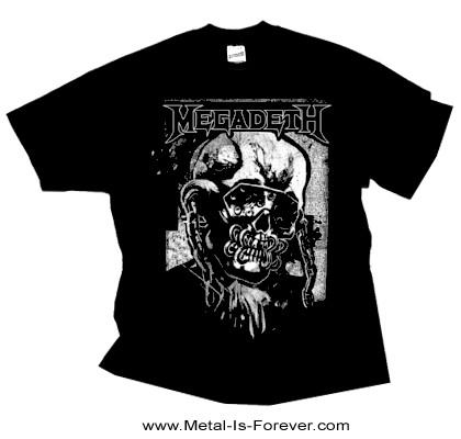 MEGADETH (メガデス) HI-CON VIC 「ハイコントラスト・ヴィック・ラトルヘッド」 Tシャツ