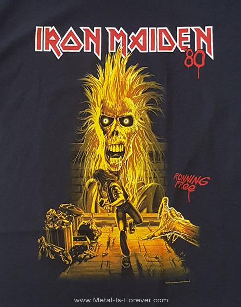 IRON MAIDEN (アイアン・メイデン) IRON MAIDEN 「鋼鉄の処女」 40周年記念 Tシャツ