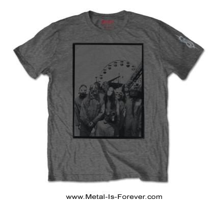 SLIPKNOT (スリップノット) AMUSEMENT PARK 「アミューズメント・パーク」 Tシャツ(チャコールグレー)