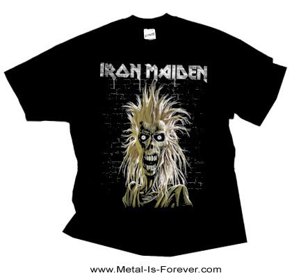 IRON MAIDEN (アイアン・メイデン) IRON MAIDEN 「鋼鉄の処女」 40周年記念 エディ Tシャツ