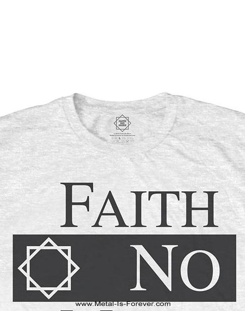 FAITH NO MORE -フェイス・ノー・モア- CLASSIC NEW LOGO STAR 「クラシック・ニュー・ロゴ・スター」 Tシャツ(白)