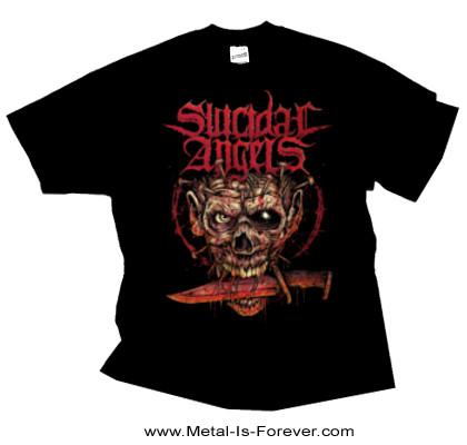 SUICIDAL ANGELS (スイサイダル・エンジェルズ) AGGRESSION OVER EUROPE 「アグレション・オーヴァー・ヨーロッパ」 Tシャツ