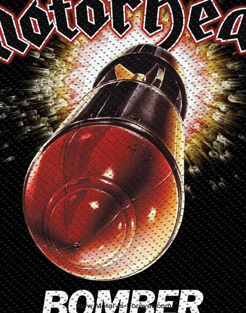 MOTORHEAD (モーターヘッド) BOMBER 「ボマー」 ワッペン