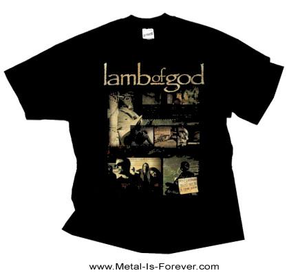 LAMB OF GOD (ラム・オブ・ゴッド) ALBUM COLLAGE 「アルバム・コラージュ」 Tシャツ