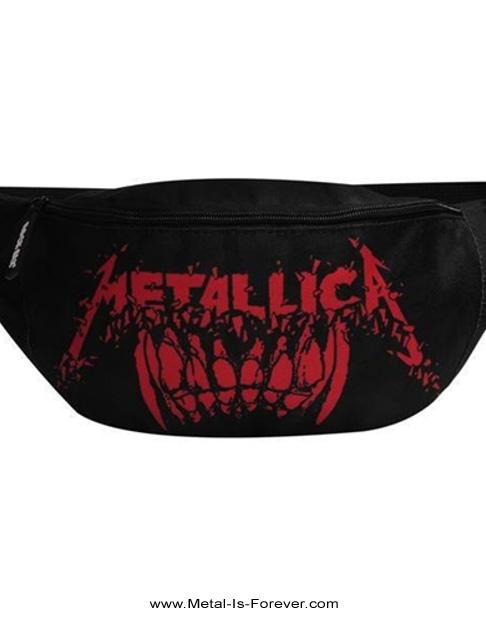 METALLICA -メタリカ- TEETH 「ティース」 ウエストバッグ