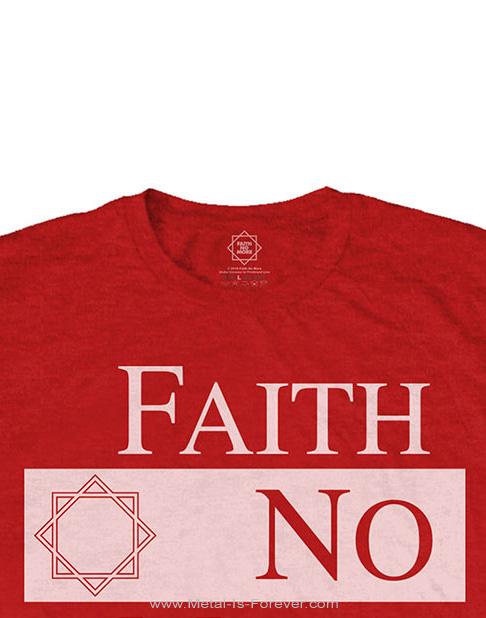 FAITH NO MORE -フェイス・ノー・モア- CLASSIC NEW LOGO STAR 「クラシック・ニュー・ロゴ・スター」 Tシャツ(赤)