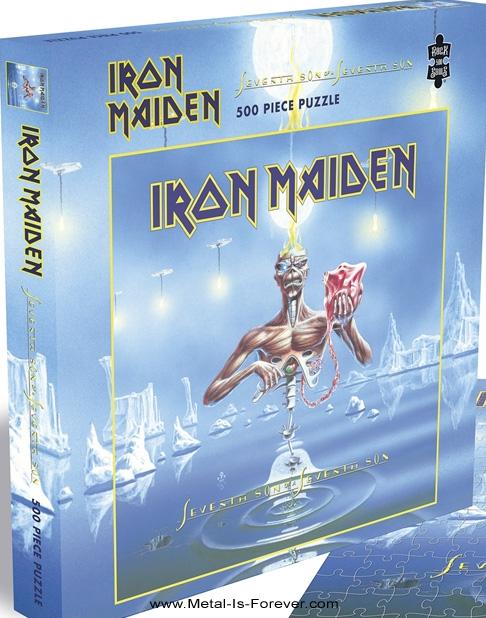 IRON MAIDEN (アイアン・メイデン) SEVENTH SON OF A SEVENTH SON 「第七の予言」  500ピース ジグソーパズル