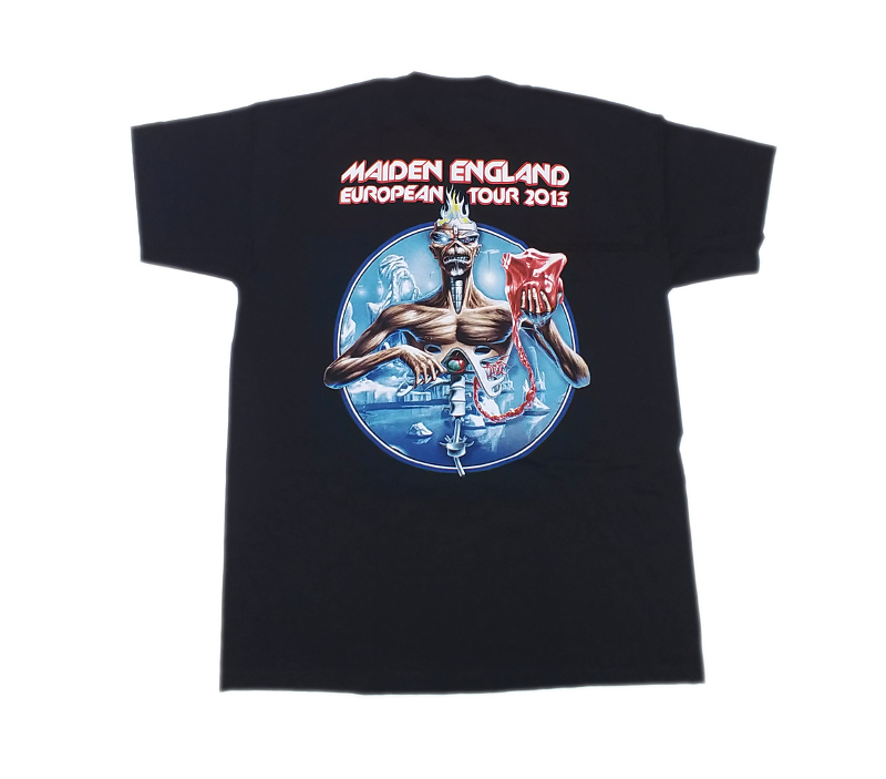 【在庫有り商品】IRON MAIDEN -アイアン・メイデン- MAIDEN ENGLAND 「メイデン・イングランド」 2013年ツアーTシャツ Lサイズ