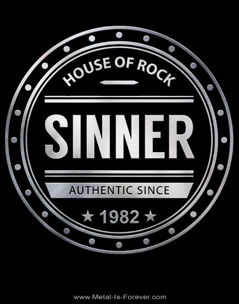 SINNER -シナー- HOUSE OF ROCK 「ハウス・オブ・ロック」 Tシャツ