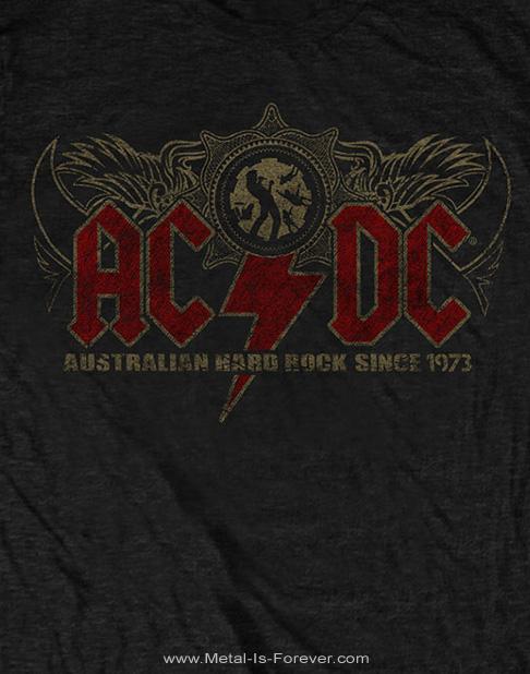 AC/DC -エーシー・ディーシー- OZ ROCK 「オズ・ロック」 Tシャツ