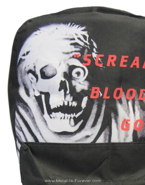 DEATH -デス- SCREAM BLOODY GORE 「スクリーム・ブラッディ・ゴア」 リュックサック(モノトーン)
