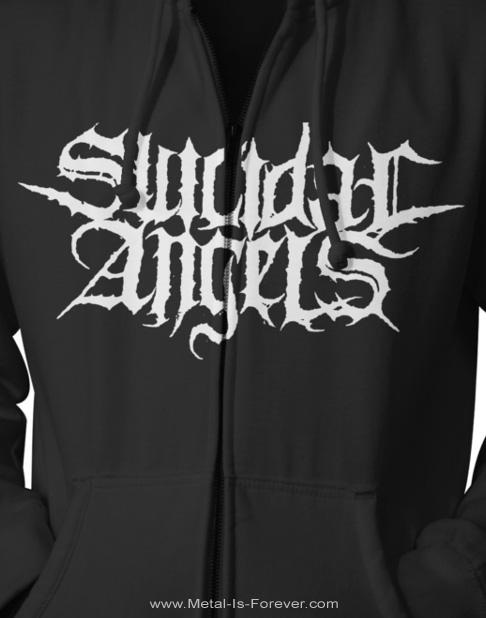 SUICIDAL ANGELS (スイサイダル・エンジェルズ) YEARS OF AGGRESSION 「イヤーズ・オブ・アグレッション」 ジップ・パーカー