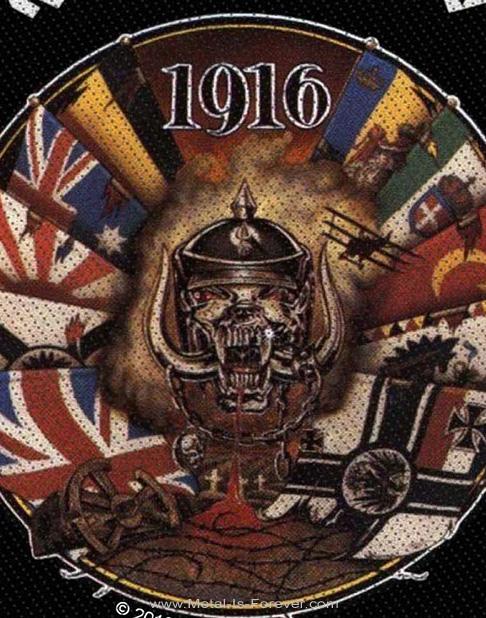 MOTORHEAD (モーターヘッド) 1916 ワッペン
