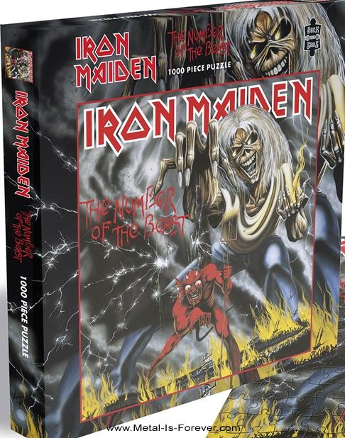 IRON MAIDEN (アイアン・メイデン) THE NUMBER OF THE BEAST 「魔力の刻印」 1000ピース ジグソーパズル