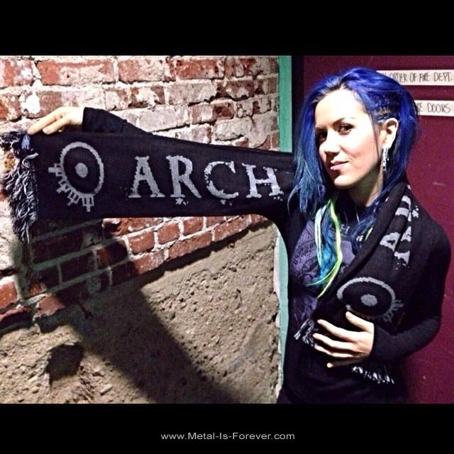 ARCH ENEMY -アーチ・エネミー- LOGO 「ロゴ」 マフラー