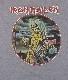 【在庫有り商品】IRON MAIDEN -アイアン・メイデン- KILLERS 「キラーズ」 サークル Tシャツ(グレー) Lサイズ