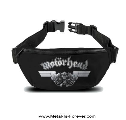 MOTORHEAD -モーターヘッド- HAMMERED WINGS 「ハマード・ウイングス」 ウエストバッグ