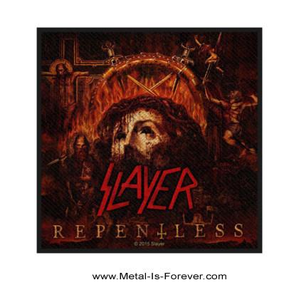 SLAYER (スレイヤー) REPENTLESS「リペントレス」 ワッペン