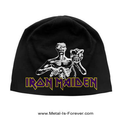 IRON MAIDEN (アイアン・メイデン) SEVENTH SON OF A SEVENTH SON 「第七の予言」 ニットキャップ(薄手)