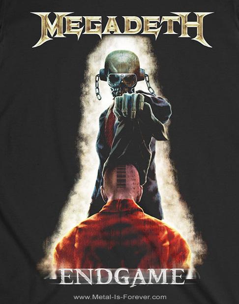 MEGADETH (メガデス) VIC REMOVING HOOD 「ヴィック・リムービング・フード」 Tシャツ