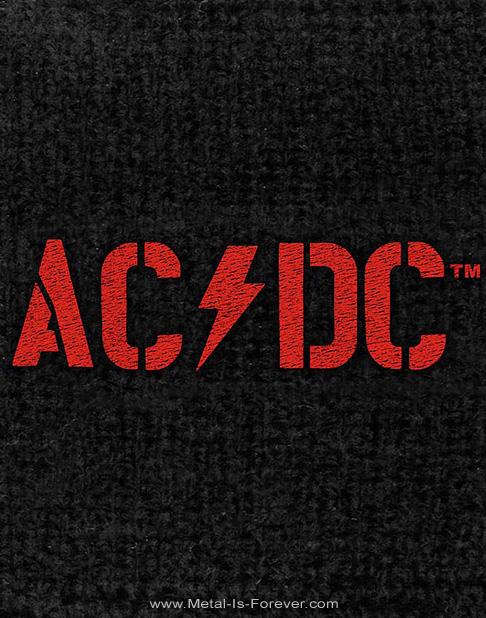 AC/DC (エーシー・ディーシー) POWER UP 「パワーアップ」 バンド・ロゴ リストバンド