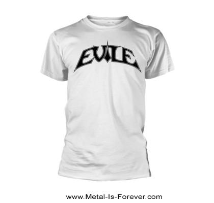 EVILE (イーヴァイル) LOGO 「ロゴ」 Tシャツ(白)