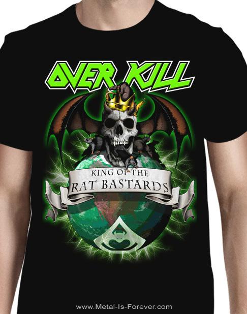 OVERKILL -オーヴァーキル- KING OF THE RAT BASTARDS 「キング・オブ・ザ・ラット・バスターズ」 Tシャツ
