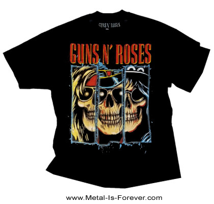 GUNS N' ROSES (ガンズ・アンド・ローゼズ) APPETITE FOR DESTRUCTION RED 「アペタイト・フォー・ディストラクション・レッド」 Tシャツ