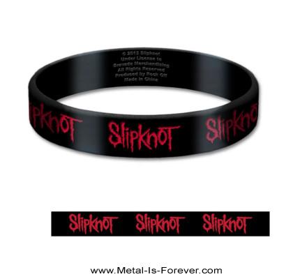 SLIPKNOT (スリップノット) LOGO 「ロゴ」 ラバー・ブレスレット