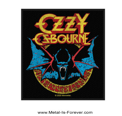 OZZY OSBOURNE (オジー・オズボーン) BAT 「バット」 ワッペン