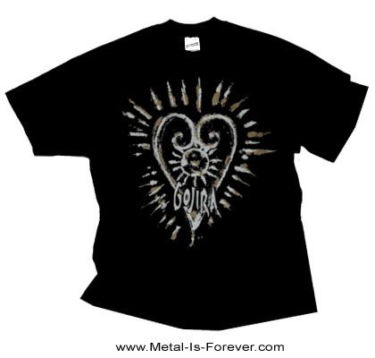 GOJIRA (ゴジラ) FORTITUDE HEART 「フォーチュード・ハート」 Tシャツ