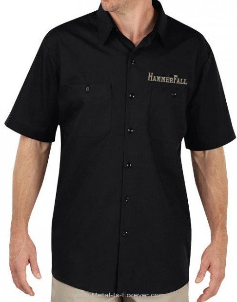 HAMMERFALL -ハンマーフォール- HAMMER SHIELD 「ハンマー・シールド」 ワークシャツ
