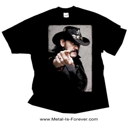 LEMMY KILMISTER -レミー・キルミスター- POINTING PHOTO 「ポインティング・フォト」 Tシャツ