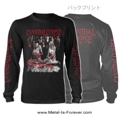 CANNIBAL CORPSE -カンニバル コープス- BUTCHERED AT BIRTH 「斬鬼〜ブッチャード・アット・バース」 長袖Tシャツ